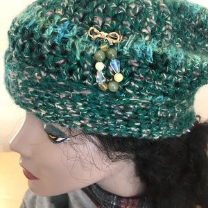 Hat * Small - Medium. Lovely jewelry beanie hat